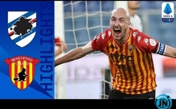 [Highlights] Serie A - Sampdoria 2-3 Benevento